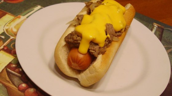 Philly Cheese Steak Dog