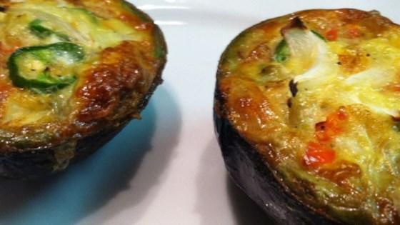 Avocado Baked Eggs