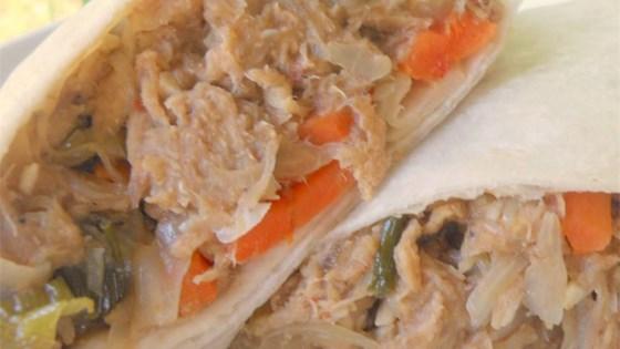 Tortilla Moo Shu Pork