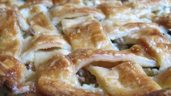 Rhubarb Custard Pie VI