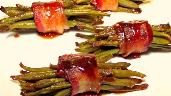 Sweet Green Bean Bundles Recipe Allrecipes Com