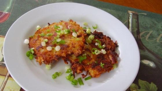 Kicked-Up Potato Pancakes