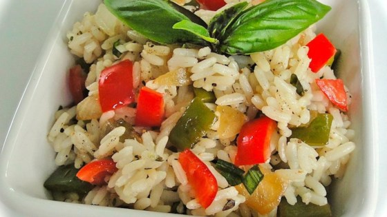 Sweet Bell Pepper Rice