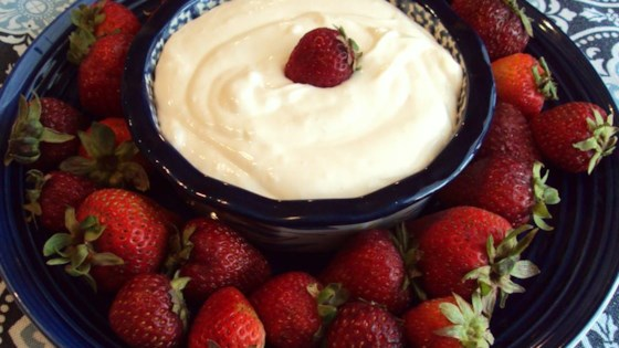 Andre's Easy Fruit Dip