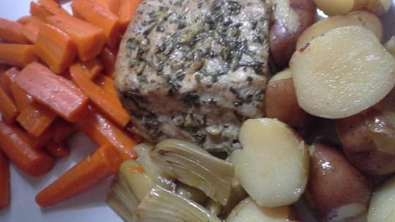 Healthier Roasted Pork Loin