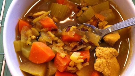 Tom's Mulligatawny Soup