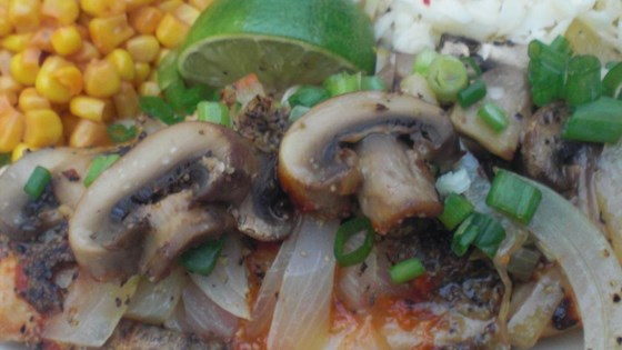 Mushroom, Cheese, and Haddock Bake
