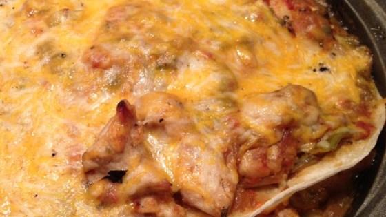 Hatch Chile Enchilada Pie