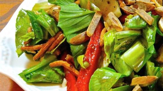 Crunchy Bok Choy Salad