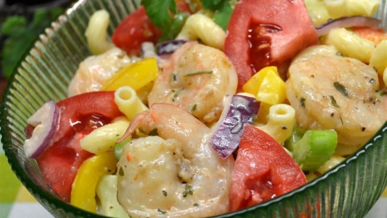 Momma's Pasta and Shrimp Salad