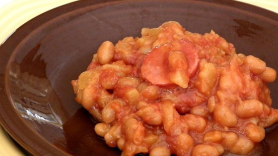 Tropical Island Baked Beans