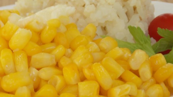 Sweet Corn on The Cob Without the Cob