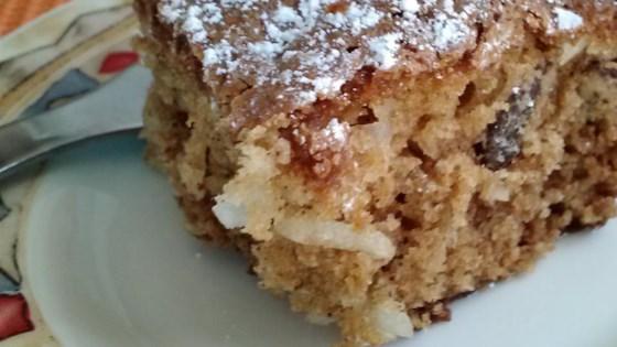 Walnut-Coconut Coffee Cake