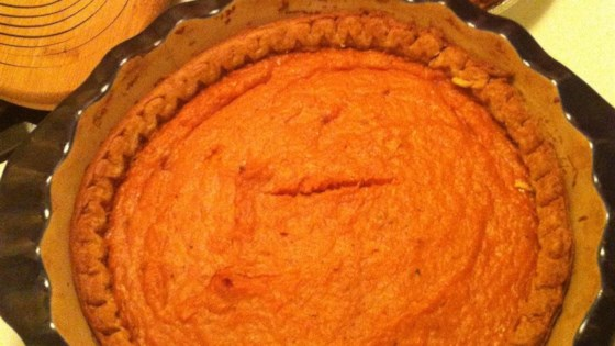 Goldilocks Sweet Potato Pie