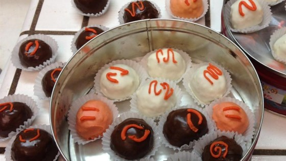 Chocolate Covered Orange Balls
