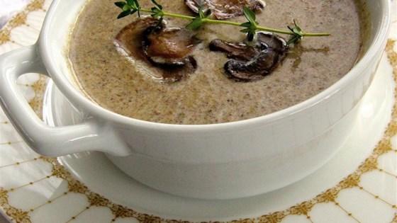 Asian mushroom soup recipe