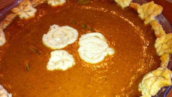 Jen's Maple Pumpkin Pie