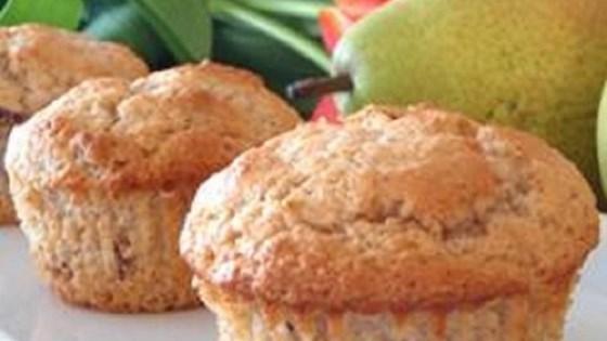 Vanilla Pear Muffins