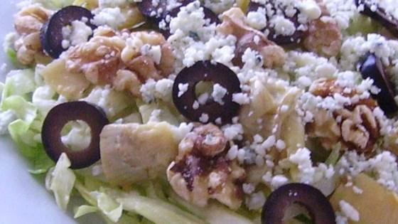Walnut Blue Cheese Artichoke Salad