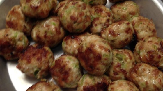 Bri's Buffalo Chicken Meatballs