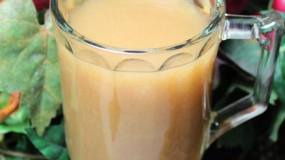Hot Carmel Apple Juice