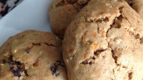 Oatmeal Carrot Raisin Cookies