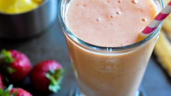 Strawberry Smoothie with OJ