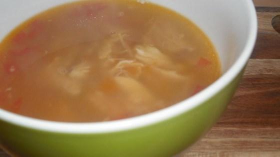 Sopa de Ajo Mexicana (Mexican Garlic Soup)