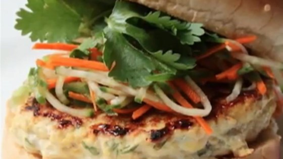 Chef John's Chicken Satay Burger Recipe - Allrecipes.com