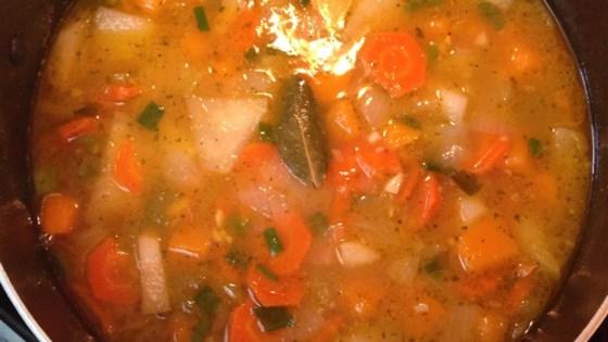 Butternut Squash and Turnip Soup