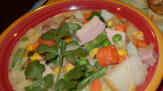 Vegetable and Corn Chowder