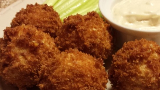 Buffalo Chicken Dipping Balls
