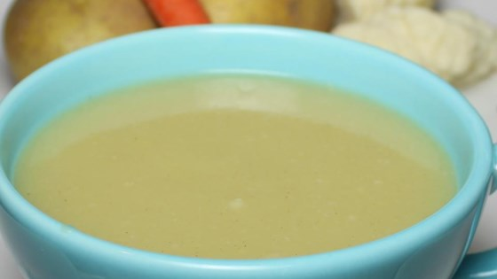 Healthier Potato and Cauliflower Soup