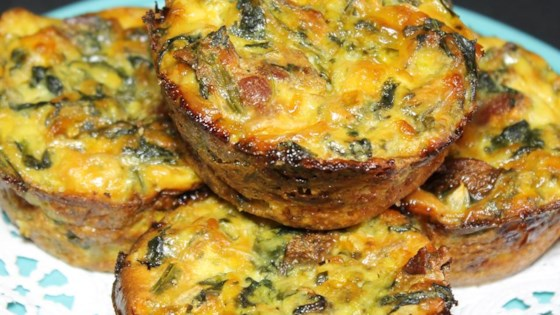 Spinach and Spaghetti Squash Quiche