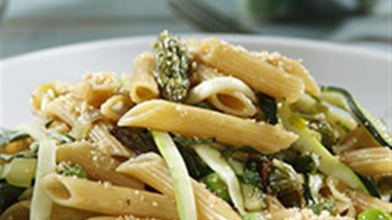 Gorgeously Green Penne Spring Pasta