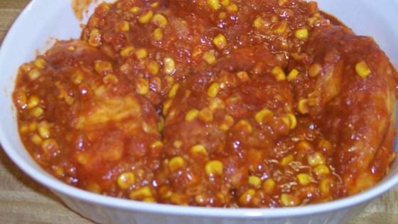 Tomato Sauce Corn Chicken