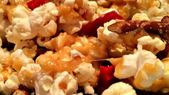Lovely Lisa's Sweet and Salty Caramel Popcorn