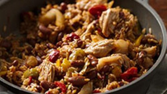 Ragin' Cajun Turkey, Rice and Beans