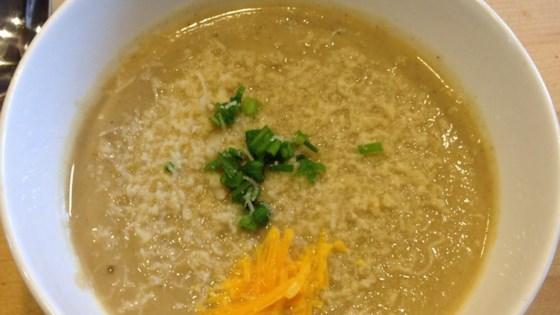 Amy Rose's Roasted Cauliflower Soup