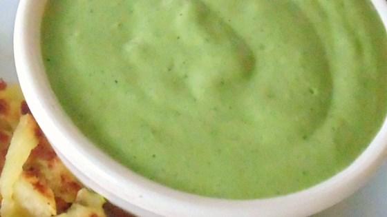 Creamy Cilantro Pesto Sauce