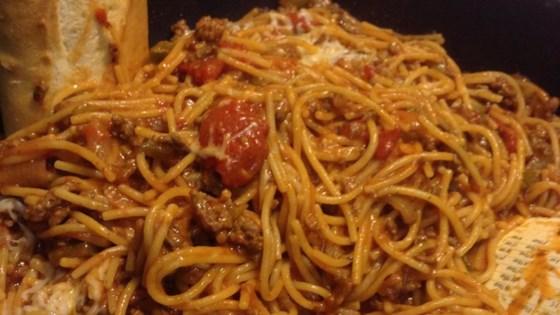 Spaghetti Skillet Dinner