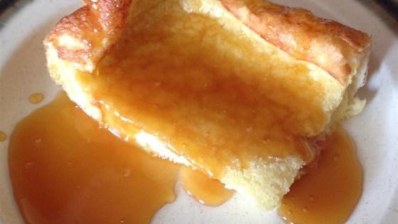 German Pancake with Buttermilk Sauce