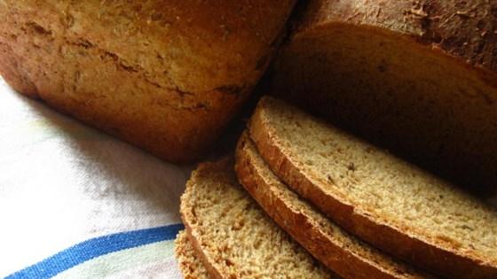 Danish Spiced Rye Bread (Sigtebrod)