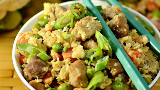 Cauliflower Fried 'Rice'