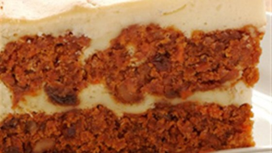 Pumpkin Carrot Cake Cheesecake