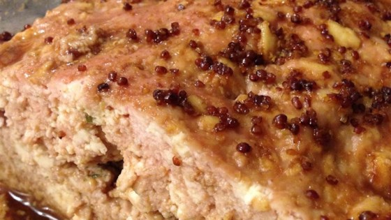 Glazed Tofu Meatloaf