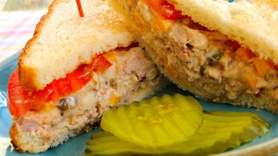 Spicy Tuna Fish Sandwich