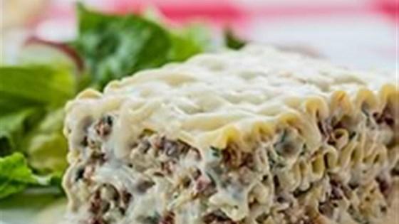 Creamy White Chicken and Artichoke Lasagne