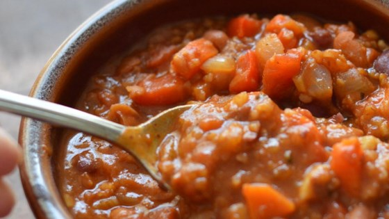 Lucie's Vegetarian Chili