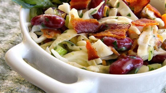Bean and Bacon Salad